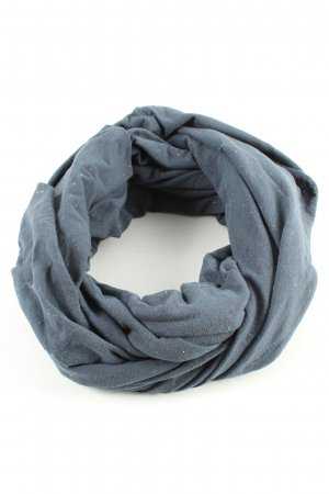 Mazine Snood blue allover print casual look