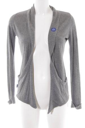 Mazine Shirtjacke grau meliert Casual-Look