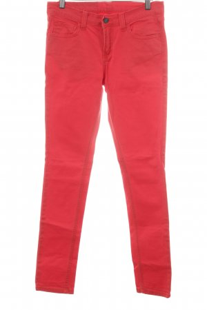 Mazine Slim Jeans rot Casual-Look