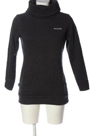 Mazine Sweatshirt hellgrau meliert Casual-Look