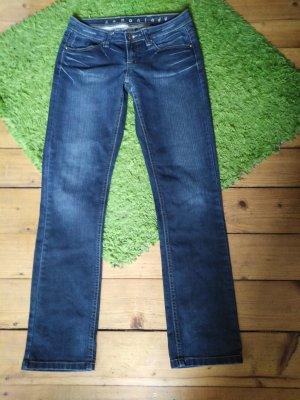 MBJ Jeans svasati blu scuro