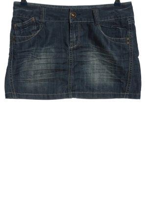 MBJ Gonna di jeans blu stile casual
