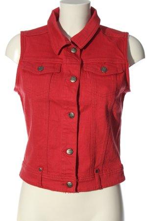 MBJ Smanicato jeans rosso stile casual