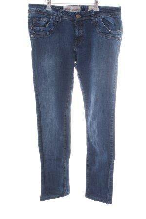 MBJ Straight-Leg Jeans blau Casual-Look