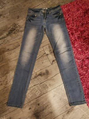 MBJ ♥ Tolle Jeans! skinny,  toller Po Gr 34 XS