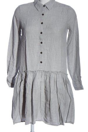 mbyM A-Linien Kleid hellgrau Casual-Look