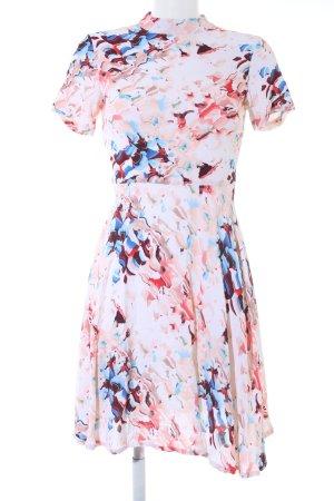 mbyM A-Linien Kleid abstraktes Muster Elegant