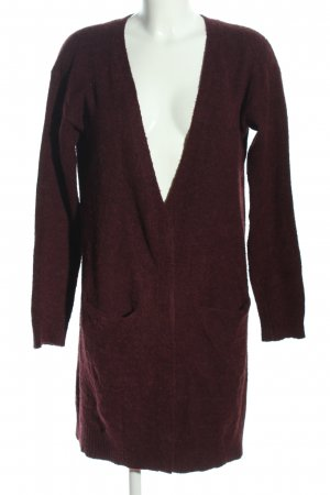 mbyM Cardigan rot meliert Casual-Look