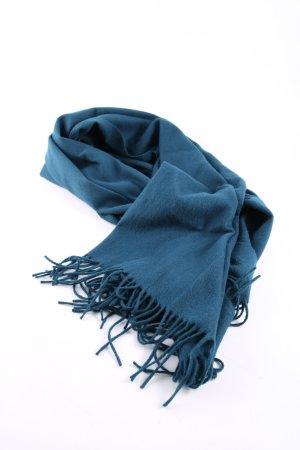 mbyM Fransenschal blau Casual-Look