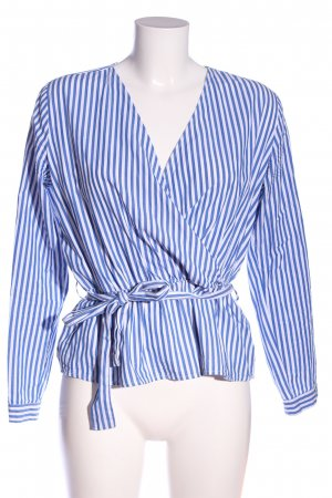 mbyM Hemd-Bluse blau-weiß Streifenmuster Casual-Look