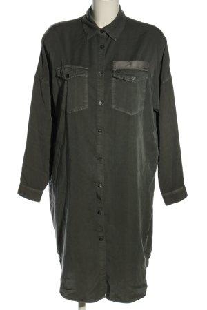 mbyM Hemdblusenkleid khaki Casual-Look