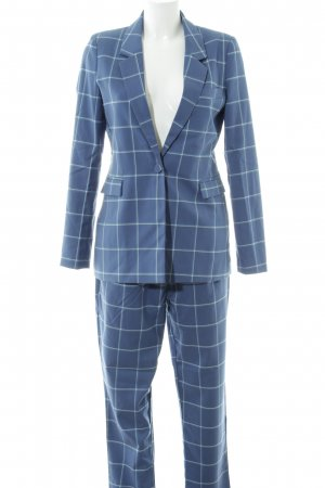 mbyM Trouser Suit check pattern simple style