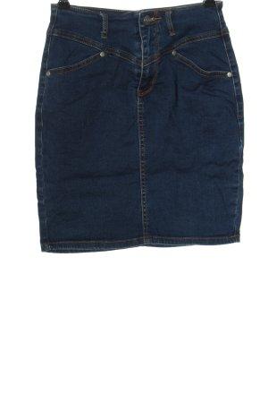 mbyM Jupe en jeans bleu style décontracté