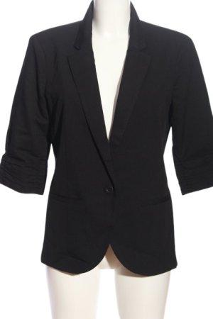 mbyM Jersey blazer zwart zakelijke stijl
