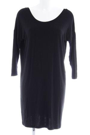 mbyM Vestido de tela de jersey negro