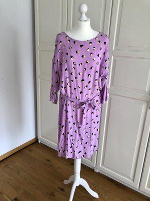 Mbym Kleid L rosa gelb gepunktet