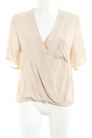 mbyM Kurzarm-Bluse nude Casual-Look