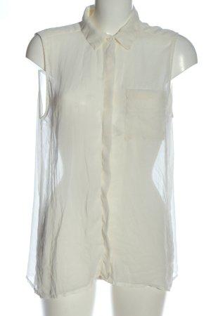 mbyM Chemise à manches courtes blanc style décontracté