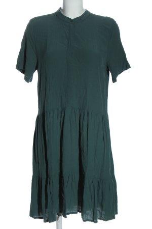 mbyM Robe à manches courtes vert élégant