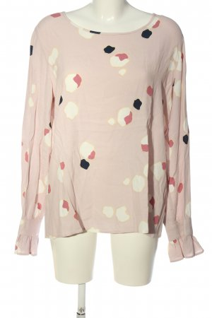 mbyM Langarm-Bluse grafisches Muster Casual-Look