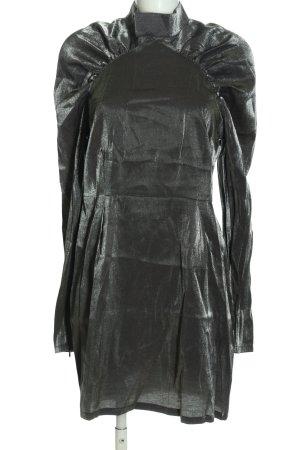 mbyM Langarmkleid schwarz extravaganter Stil