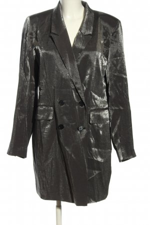 mbyM Long-Blazer silberfarben Elegant