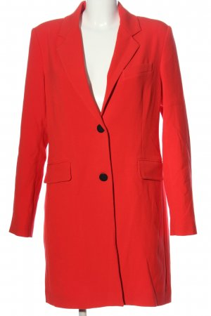 mbyM Lange blazer rood casual uitstraling
