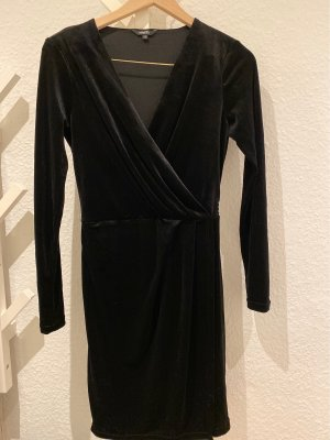 mbyM Robe stretch noir polyester