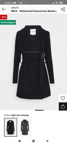 mbyM Manteau en laine noir