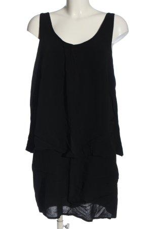 mbyM Robe courte noir style décontracté