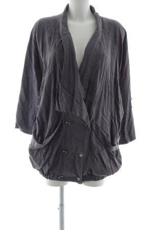 mbyM Oversized Jacke grau Street-Fashion-Look