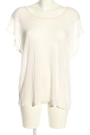 mbyM Oversized Shirt wollweiß meliert Casual-Look