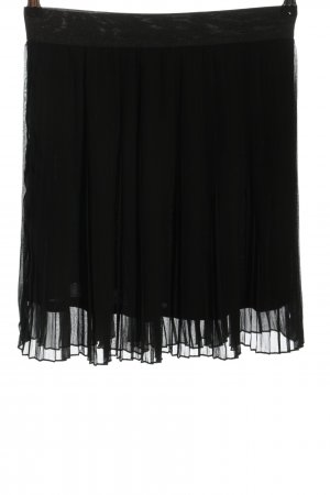 mbyM Pleated Skirt black casual look