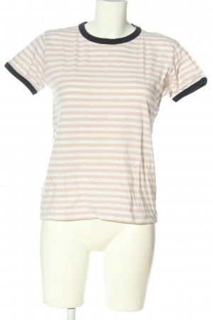 mbyM T-shirt rayé motif rayé style décontracté