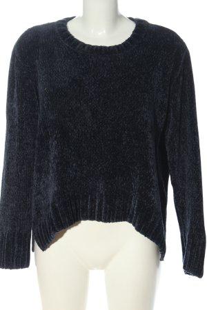 mbyM Jersey de cuello redondo azul look casual