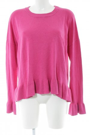 mbyM Rundhalspullover pink Casual-Look