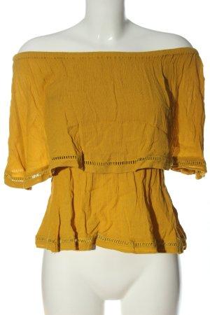 mbyM Schlupf-Bluse blassgelb Casual-Look