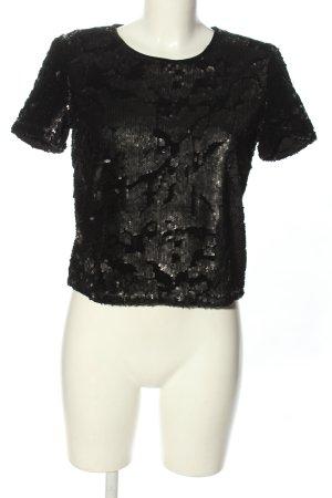 mbyM Schlupf-Bluse schwarz Elegant