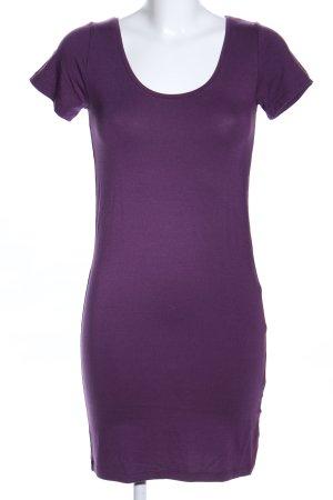 mbyM Shirtkleid lila Casual-Look