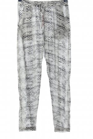 mbyM Stoffhose abstraktes Muster Casual-Look