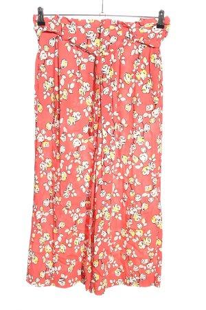 mbyM Jersey Pants flower pattern casual look