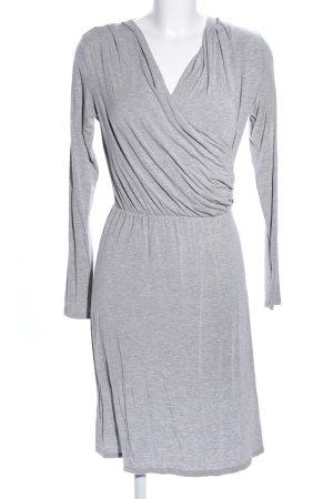 mbyM Vestido elástico gris claro moteado look casual