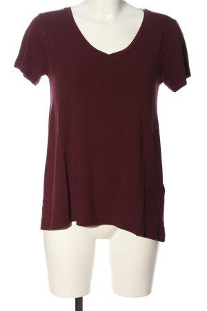 mbyM T-Shirt braun Casual-Look