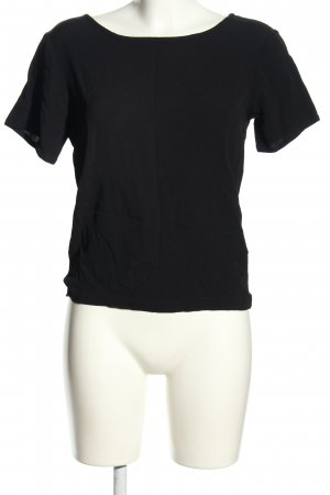 mbyM T-Shirt schwarz Casual-Look