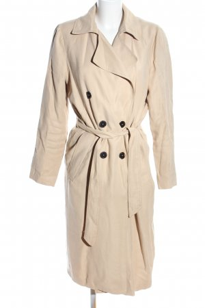 mbyM Trenchcoat creme Casual-Look