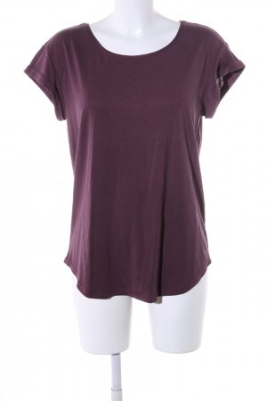 mbyM Boothalsshirt rood casual uitstraling