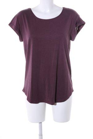 mbyM U-Boot-Shirt lila Casual-Look