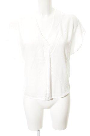 mbyM V-Ausschnitt-Shirt weiß Casual-Look