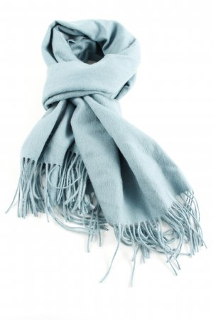 mbyM Woolen Scarf blue casual look