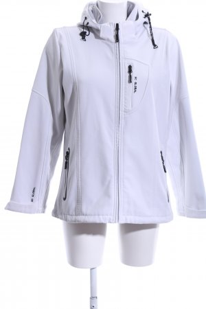 Mc Global Veste d'extérieur blanc style simple